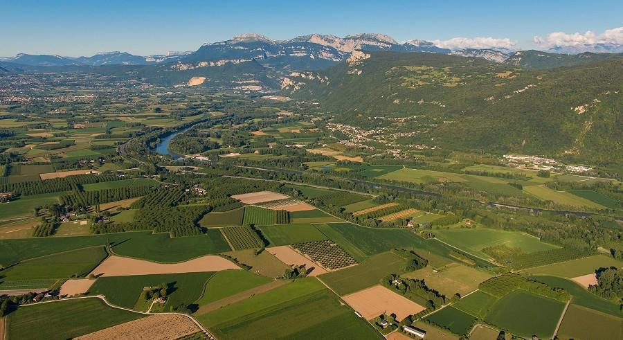 Photo aérienne F. Pattou