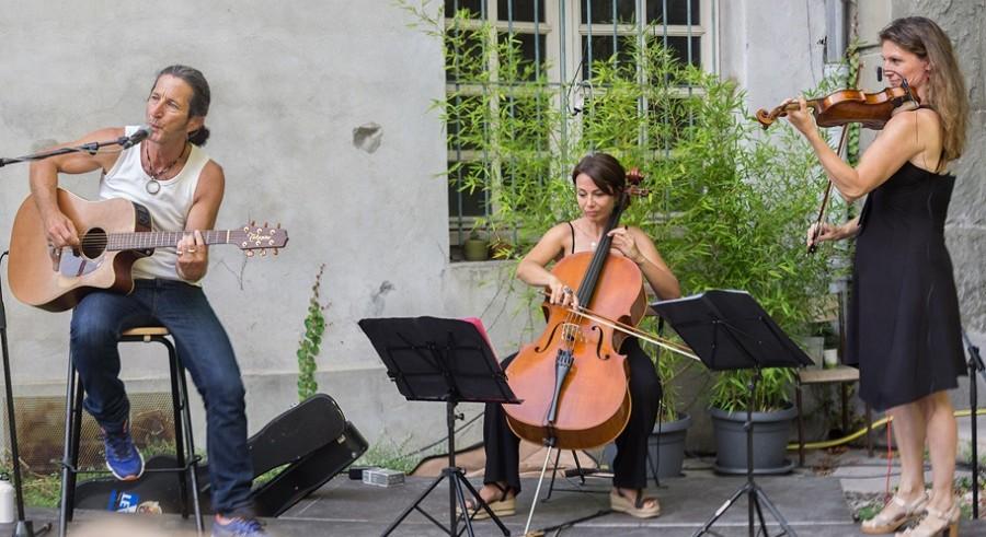 LES ALLEES CHANTENT - Antoine Strippoli - Trio acoustique