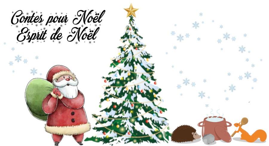 Contes pour Noël : Esprit de Noël - En compagnie de Cécile